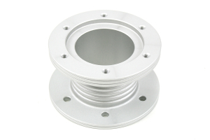 Sparco Steering Wheel Spacer Aluminum Silver ( Part Number: 01595ANT)