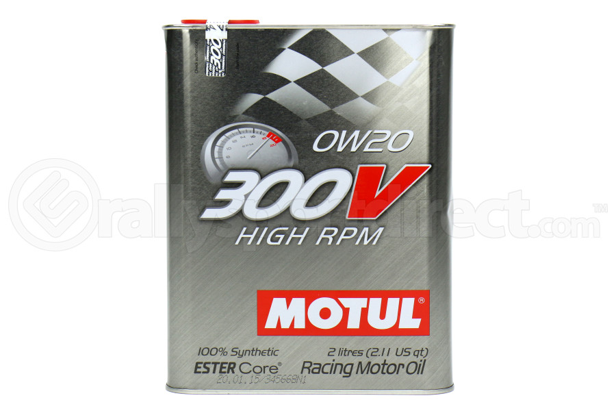Motul 300V High RPM 0W20 Engine Oil 2.1qt (Part Number:104239)