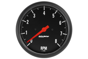 Autometer Z-Series In-Dash Tachometer Gauge 5in - Universal