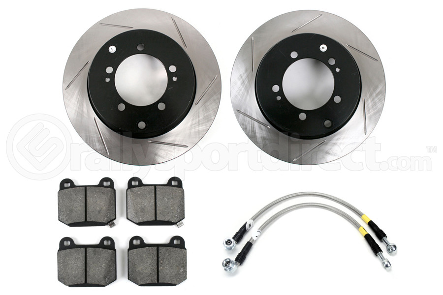 Stoptech Sport Kit Slotted Rear (Part Number:977.46003R)