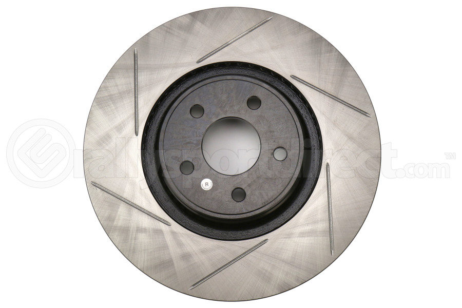 StopTech Front Right Slotted Brake Rotor 335mm - Ford Focus ST 2013+