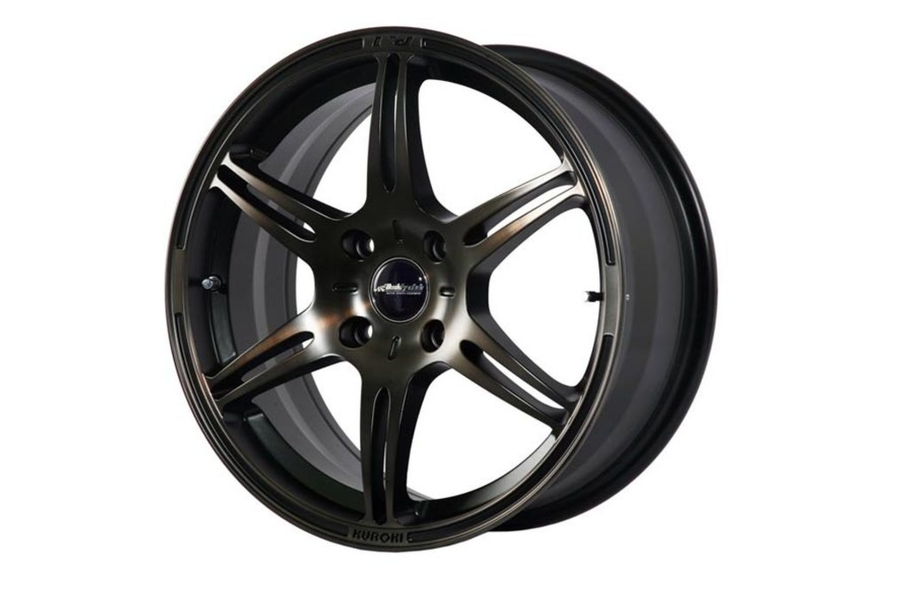 Buddy Club F91 Kuroki 17x8 +35 5x114.3 Bronze Black - Universal