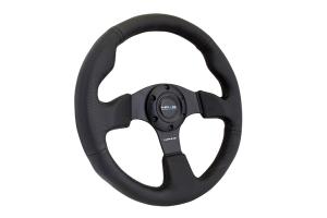 NRG Reinforced Steering Wheel 320mm Black - Universal