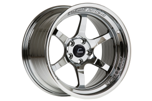 Cosmis Racing Wheels XT-006R 18x11 +8 5x114.3 Black Chrome - Universal