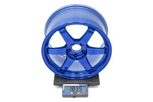 Volk TE37SL 18x9.5 +40 5x114.3 Hyper Blue - Universal