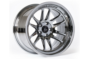Cosmis Racing Wheels XT-206R 17x9 +5 5x114 Black Chrome (Part Number: )