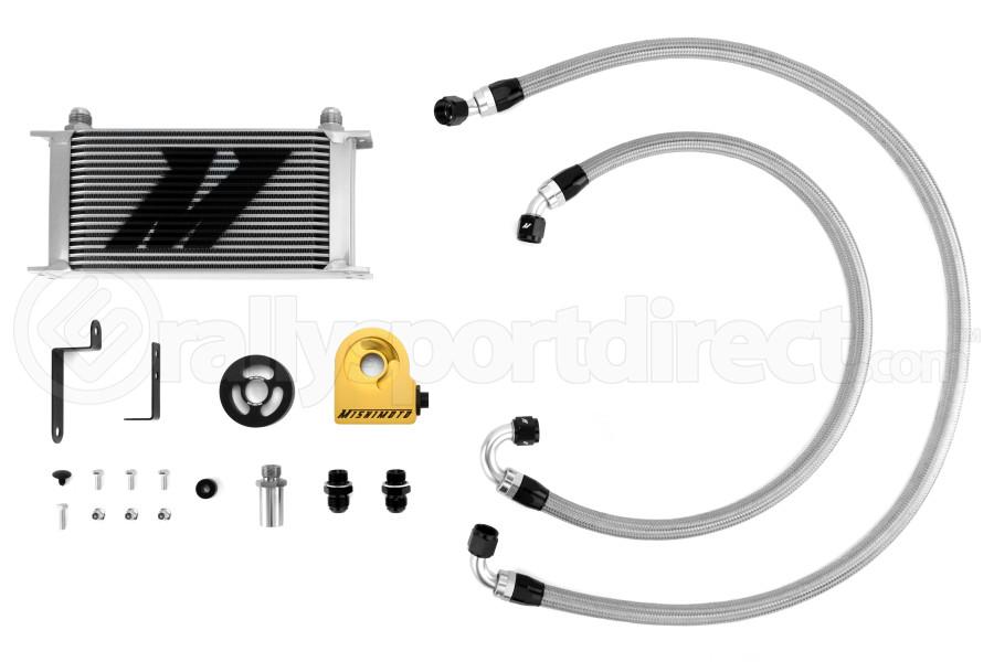 Mishimoto Oil Cooler Kit Silver (Part Number:MMOC-WRX-08T)