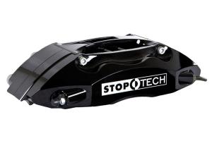 Stoptech ST-40 Big Brake Kit Front 355mm Black Slotted Rotors - Mitsubishi Evo 8/9 2003-2006