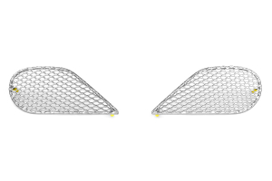 GrillCraft Front Lower Grill Silver 3-Piece ( Part Number:GRI TOY-1841S)