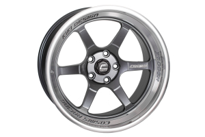 Cosmis Racing Wheels XT-006R 18x11 +8 5x114.3 Gunmetal w/ Machined Lip - Universal