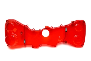 IAG Transparent Red Timing Belt Covers - Subaru STI 2008-2020