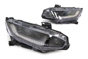 OLM Sequential LED Headlights - Honda Civic 2016+