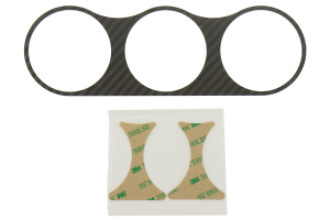 ATI Center Gauge Pod Face Carbon Fiber (Part Number: CLUST-TCAR-FP)