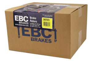EBC Brakes S4 Rear Brake Kit Redstuff Pads and USR Rotors - Mazda 3 2003-2005