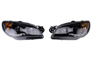 Spec-D Black Projector Headlights Black  - Subaru WRX/STI 2006-2007