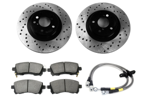 Stoptech Sport Kit Drilled Front (Part Number: )