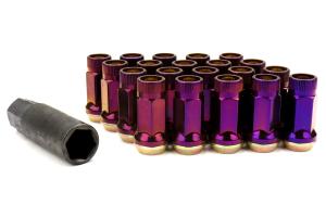 Muteki SR45R Burned Titanium Open Ended Lug Nuts 12X1.25 - Universal
