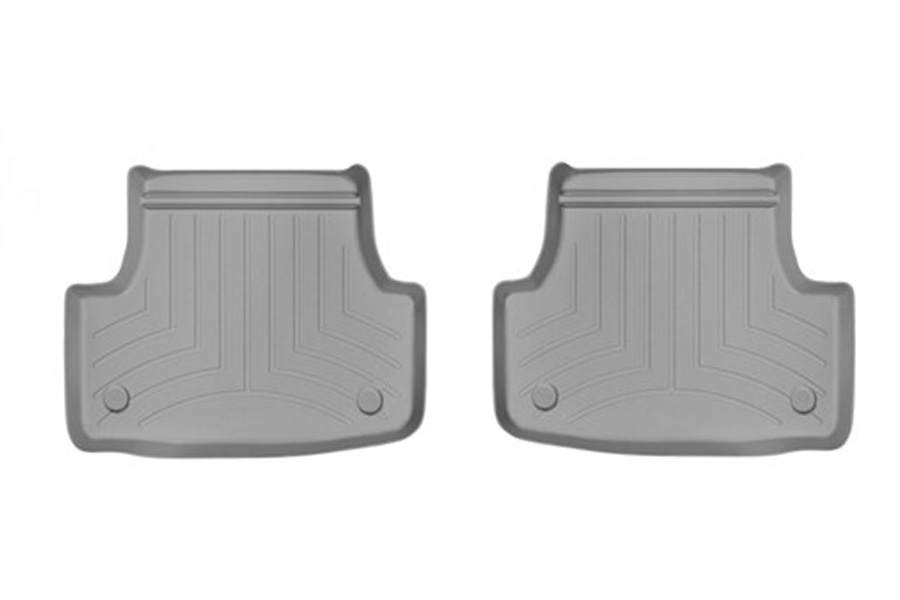 Weathertech Floorliner Grey Rear - Volkswagen Golf/GTI (Mk7) 2015+ / Audi A3/S3 2015+