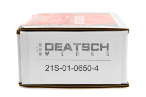 DeatschWerks Fuel Injectors Top Feed 650cc ( Part Number:DET 21S-01-0650-4)