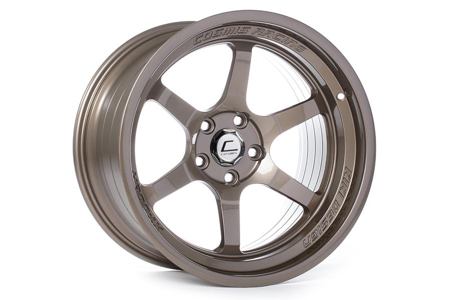 Cosmis Racing Wheels XT-006R 18x11 +8 5x114.3 Bronze - Universal