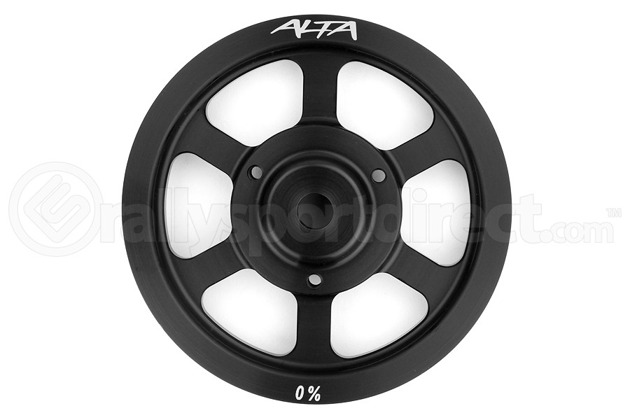 Alta Crank Pulley Black (Part Number:AMP-ENG-500)