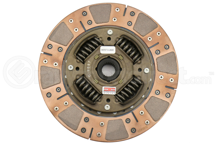 Competition Clutch Replacement Segmented Clutch Disc (Part Number:99707-S-2600)