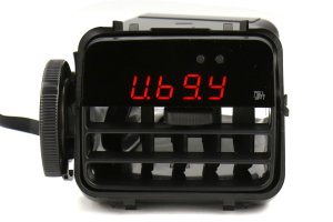 P3 Gauges Vent Integrated Multi Gauge w/ Black Vent Housing (Part Number: )