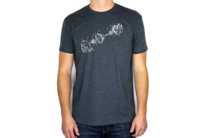 RallySport Direct Exploded Diagram T-Shirt ( Part Number: 3202)