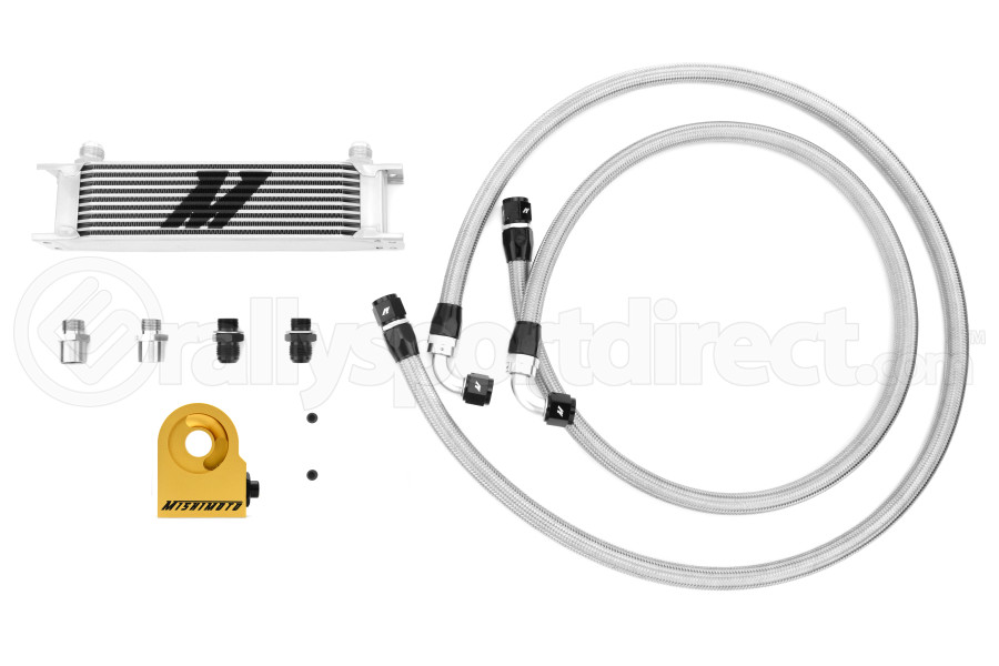 Mishimoto Universal Thermostatic Oil Cooler Kit (Part Number:MMOC-UT)