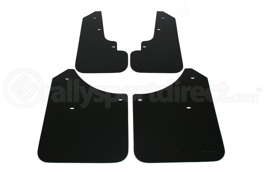 Rally Armor Basic Mud Flaps Black Logo ( Part Number:RAL MF5-BAS-BLK)