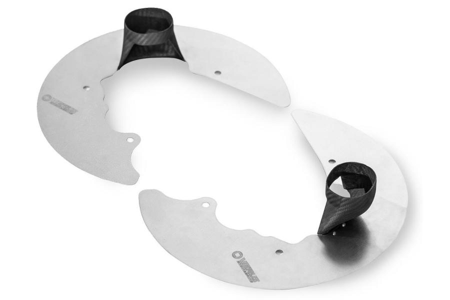 Verus Engineering Backing Plate Kit w/ Dry Carbon Duct - Subaru WRX / STI 2015+