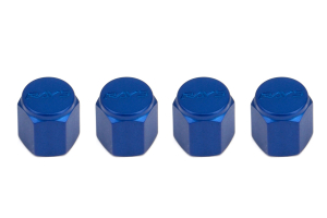 Volk Racing Rays Valve Stem Caps Blue (Part Number: )