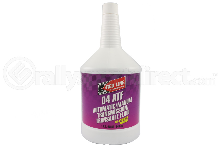 Red Line Automatic Transmission Fluid D4 ATF 1 Quart - Universal