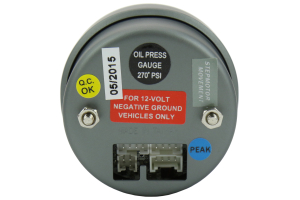 ProSport Halo Oil Pressure Gauge ( Part Number:PRS 216HLOP270-PK.PSI)
