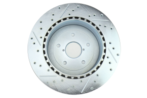Stoptech C-Tek Sport Drilled and Slotted Rotor Single Rear Left - Subaru STI 2005-2007