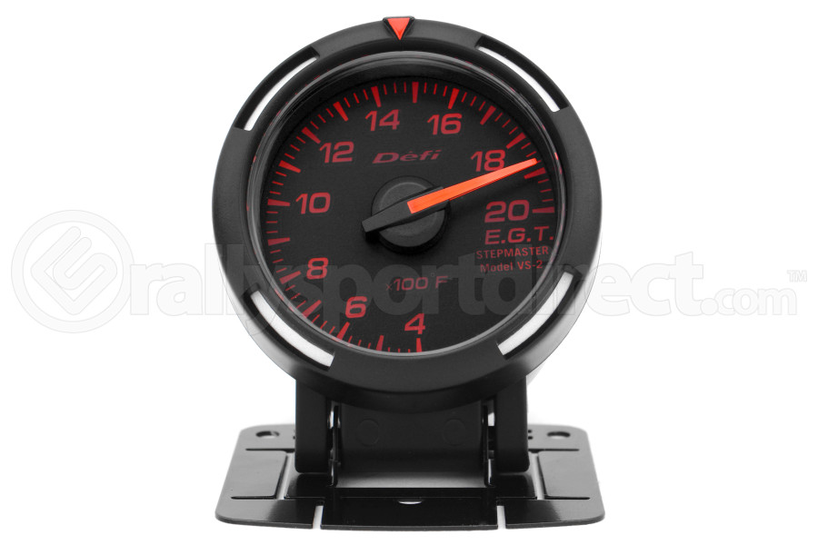Defi Red Racer EGT Exhaust Gas Temperature Gauge Imperial 52mm 400-2000F (Part Number:DF06802)