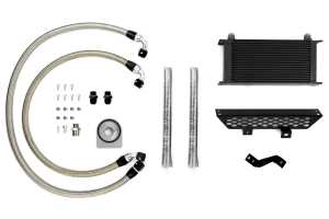 Mishimoto Oil Cooler Kit Black Non-thermostatic - Ford Focus ST 2013+