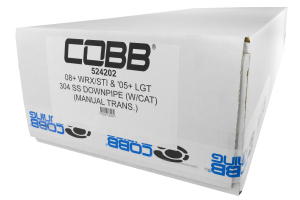 COBB Tuning Downpipe Catted Bellmouth ( Part Number:COB 524202)