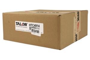 Hawk Talon Cross Drilled and Slotted Front Rotor Pair - Subaru STI 2005-2017