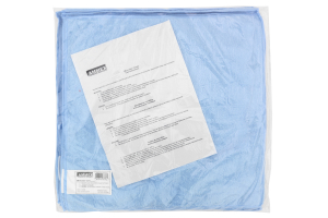 Ammex Microfiber Blue Towels (Part Number: )