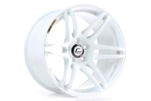 Cosmis Racing Wheels MRII 17x9.0 +10 5x114 White (Part Number: )