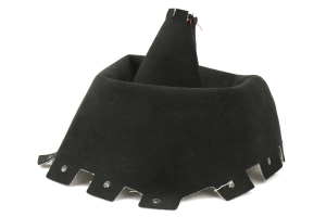 AutoStyled Black Alcantara Shift Boot w/ Red Stitching Short Shifter (Part Number: 1304060101)
