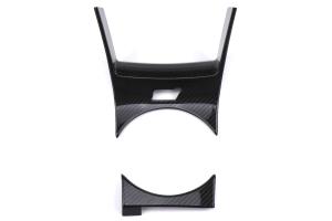 OLM LE Carbon Fiber Shifter Cover - Subaru STI 2018 - 2020