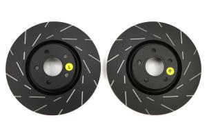 EBC Brakes USR Series Sport Slotted Front Brake Rotors - Ford Focus ST 2013+