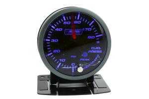 ProSport Fuel Pressure Electronic w/ Sender Blue - Universal