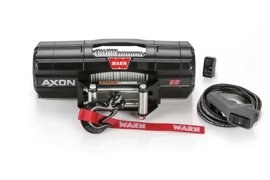 Warn Industries AXON 55 Wire Rope Winch - Universal