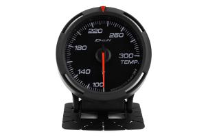 Defi White Racer Temperature Gauge Imperial 60mm 100-300F ( Part Number:DEF1 DF11703)