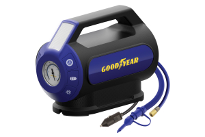 Goodyear 6 Minute Flat-to-Full Dual Flow Inflator Analog Gauge - Universal