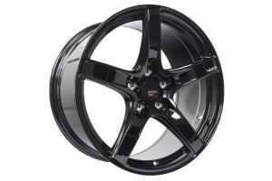 Option Lab Wheels R555 18x9.5 +38 5x114.3 Gotham Black - Universal