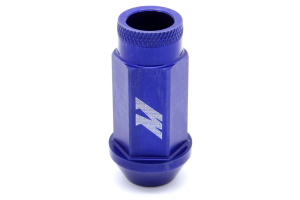 Mishimoto Aluminum Locking Lug Nuts Blue 12x1.50 (Part Number: MMLG-15-LOCKBL)